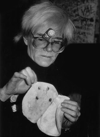 Warhol eating clock onGlassesbyBettinaCirone (Small)b